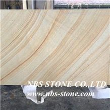 Sichuan Sandstone,Yellow Natural Building China Teakwood Vein Beige Wood Honed Slabs Flooring Tiles, Wall Panel, Pool Coping, Pavings, Applicable to Indoor and Outdoor with Best Price and High Quality