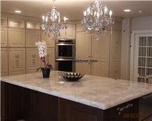 White Quartz Semi Precious Stone Countertop Contemporary,White Gemstone Countertops,Kitchen Tops,Worktops,Bar Tops,Island Tops