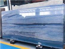 Imported Brazil Luxury Natural Quartzite Azul Macaubas Slabs