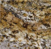 Exotic Brazilian Amazon Gold Granite Slabs