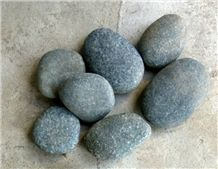 Natural Green River Pebble Stones, Green Pebble Stones