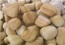 Teakwood Sandstone Pebble, Pebble Stones