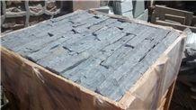 Thin Stone Veneer Monsoon Black Quartzite