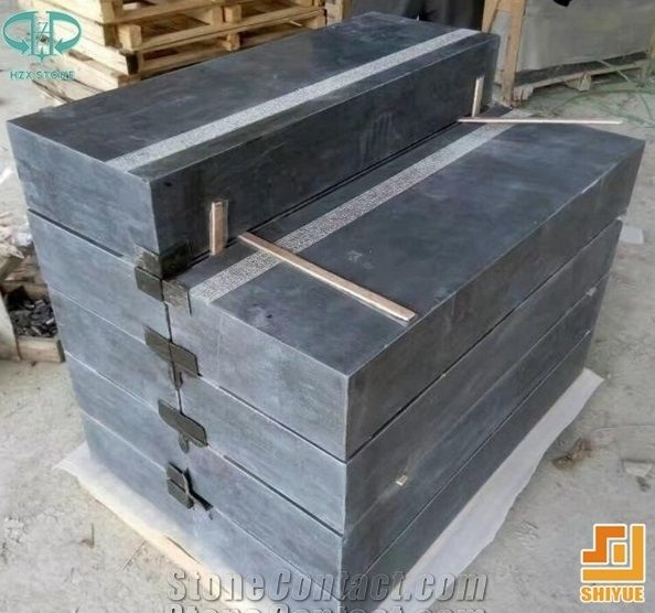 Blue Stone Stair Steps Risers,Limestone Staircase,Stair Treads,China  Natural Stone Steps Risers