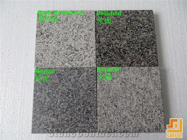 China Natural Polish Flamed Honed Granite Slab Tile Cafe Imperial Wall Covering Brown Pearl Floor Coffee