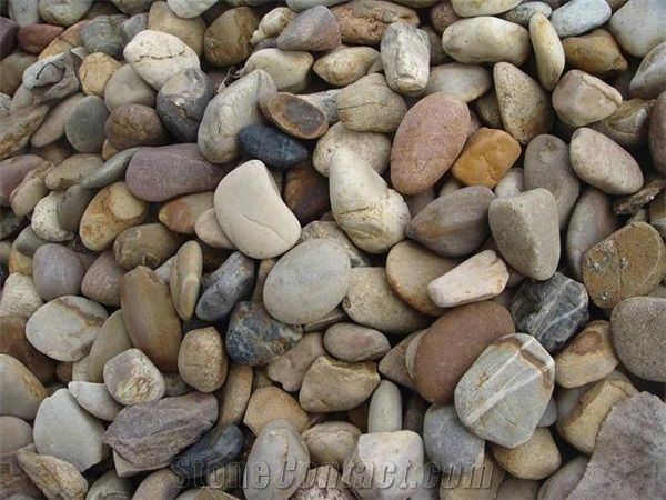 Colorful Pebble Hot Sale Polished Different Sizes,Pebble