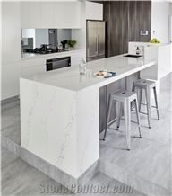 Statuario Maximus Artificial Marble Countertop Slab for Kitchen Top Island Top and Bench Top