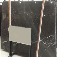 2cm Thickness Big Slabs Iran Crystal Pietra Gray Graphito Marble