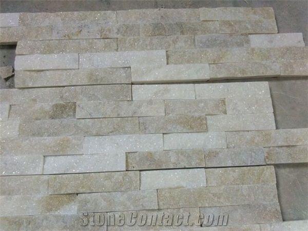 Crema Quartzite Ledger Stone Wall Decor