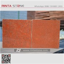 Dyed Red Granite Slabs Tiles China Red Granite Painted Red Chili Red Stone China Imperial Red Granite Taiwan Red Stone Cheap Red Stone Pure Red Absolute Red Stone Indian Red Granite