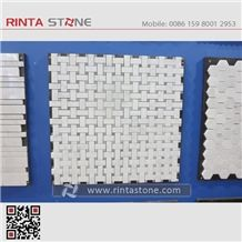 Natural Stone Mosaic Tiles,Marble Mosaic Bathroom Culture Stone,Wall Cladding Panel Format Panel Decorative Stone Chipped Mosaic Pattern Composited Tiles Honeycomb Panel Ceramic Backed Mosaic