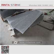 New G603 Stair Step G603 Big Flower Grey Granite Sesame White Stone Bianco Crystal White Granite Light Grey Stone Padang Light Grey Granite China Grey Granite Cheap Grey Stone