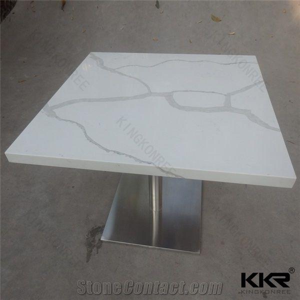 Quartz Table Tops Composite Stone Tabletop Engineered