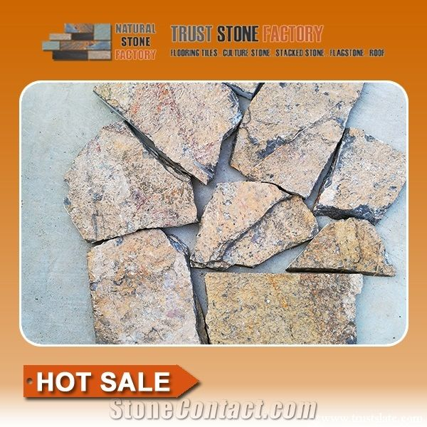 Flagstone Walkway Pavers Brown Quartzite Flagstone Landscaping