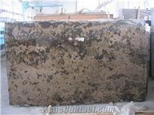 Rusty Manchu Caviar Limestone Tiles, China Brown Limestone Slab Polished