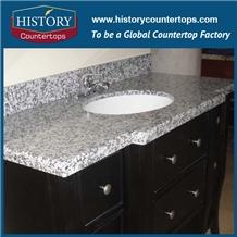 G439 Big White Flower Granite Hotel Countertops