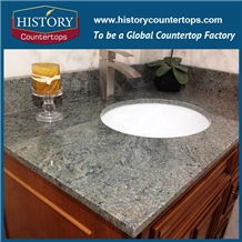 Granite Olive Green Verde Vanity Tops Bathroom