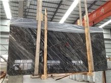 Fontaine Black / China Marble Tiles & Slabs ,Floor & Wall,Cut to Size