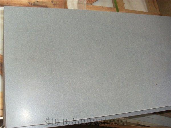 Grey Lava China Basalt Honed Basalt Tiles Slabslava Stone Floor