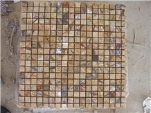 Rain Forest Mosaic,High Quality India Marble Mosaic for Inside or Outside Decoration