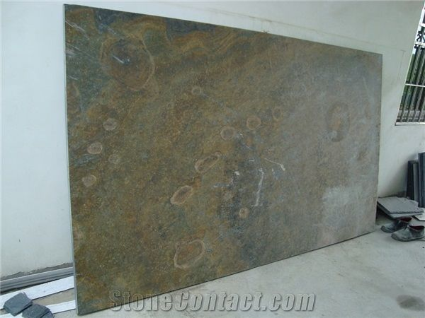 Rusty Slate Tiles Slabs Antiqueslate Floor Tilesslate Tiles