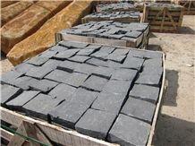 Cobbles Basalt Slabs & Tiles, Viet Nam Grey Basalt