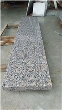 China Natural Stone Shandong Zhaoyuan G3783/G383 Light Pink Color Pearl Flower Granite Stairs/Steps/Risers, Polished Surface, Indoor and Outdoor Stairs Paving, Building Stone