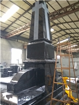 Shanxi Black Granite Huge Tombstones