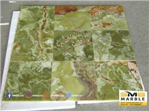 Green Onyx Tiles and Slabs for Flooring