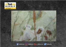 Light Green Onyx Tiles and Slabs from Pakistan