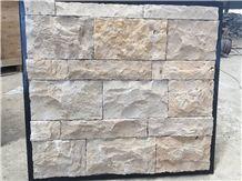 Yellow Limestone Loose Ledge Stone,Field Stone,Random Wall Cladding,Landscaping Stone Cladding,Corner Stone,Outdoor Landscaping Stone,Natural Stone Cladding China