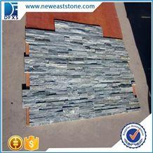 Dfx - 015b, Light Green Culture Stone, Surface Natural Ledger Panels