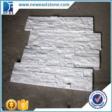 Dfx- 035 Surface Natural White Culture Stone Of China, White Ledger Panels