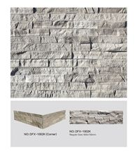 Dfx- 1002k, Surface Natural White Wood Culture Stone Of China, White Wood Ledger Panels