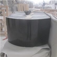 China Neimang Black Granite,G133,Menggu Black Granite,Menggu Hei Granite,Mongolian Black Granite,Nero Mongolia Granite,Super Mongolia Ebony Black Granite Stone Column