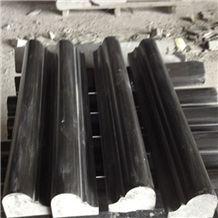 Hebei Black Granite Molding & Border,Stone Border Line/China Black Granite Border & Molding