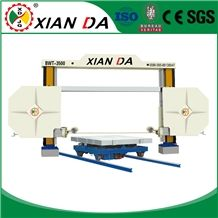 Quarry Diamond Wire Cutting Saw Machine for Granite Marble Onyx Limestone Sandstone Profiling Squaring Special Shapes Xianda Bwt-3500