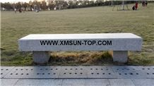 Xiamen Pink Granite Rectangle Garden Bench/Misty Rose Granite Exterior Furniture/Pearl Pink Granite Outdoor Benches/Lilac Pink Granite Park Benches