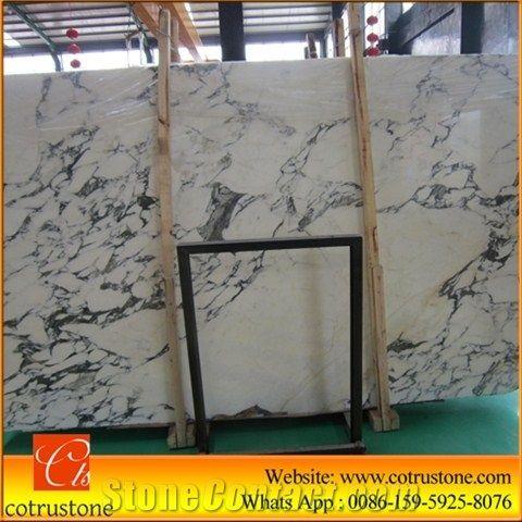 Arabescato Corchia Marble Slabs TilesWhite MarbleCutToSize - Carrara marble tile sizes