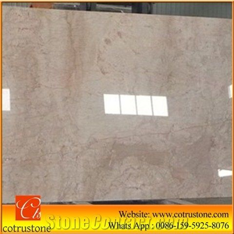 China Cream Rose Marble Red Polished Stone Tiles Slabs Beige