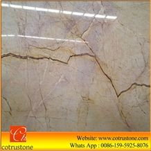 Golden Goose Marble, Golden Spider, Goose Feather Gold Marble,Golden Goose Feather Marble Tiles and Slabs for Floor Covering Tiles and Wall Covering Tiles,Turkey Goose Feather Gold Marble Slab
