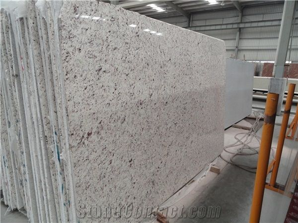 Brazil Granite Rose White Slabs Tiles