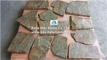 Rustic Quartzite Random Flagstone,Quartzite Crazy Stone,Rustic Quartzite Irregular Flagstones,Quartzite Driveway,Natural Quartzite Quartzite Courtyard,Quartzite Walkway Pavers,Rustic Quartzite Pavers