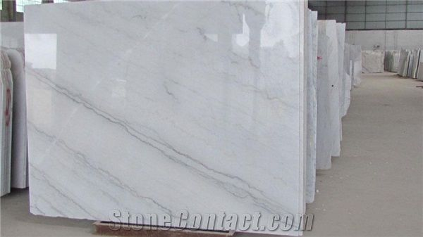 chinese white carrara marble china cloud white guangxi white lightening china carrara white marble polished slabs u0026 flooring tile wall tile - White Carrara Marble