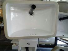 Undermount Ceramic Square Sink