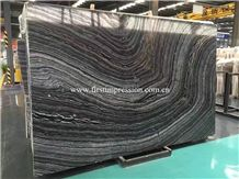 Ancient Wood Grain Marble/Silver Wave Slabs & Tiles/Black Wooden Marble/Black Wood Marble/Antique Black Marble/Ancient Wood Grain Marble