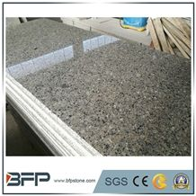 Chinese Grey Diamond Granite Slabs for Kitchen Countertop & Bar Tops