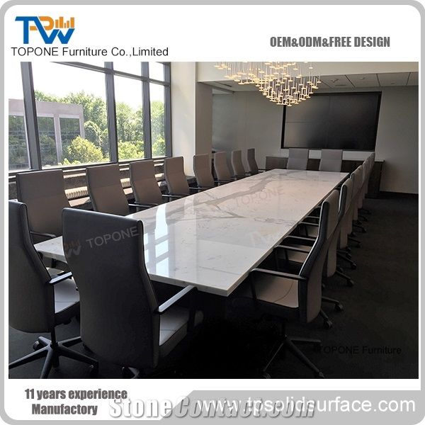 Artificial Marble Stone Conference Table Design Interior Stone - Stone conference table