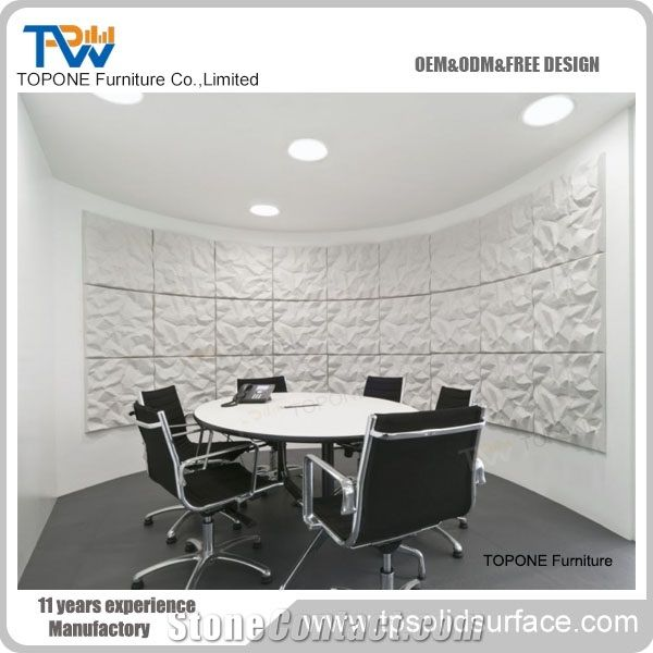 Artificial Marble Stone Modern Small Round Office Conference Table Design Interior Stone Acrylic Solid Surface Round Conference Table Tops Design Interior Stone Conference Tables Furniture From China Stonecontact Com