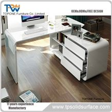 home office desk worktops. Artificial Marble Stone Simple Office Table Design, Interior Acrylic Solid Surface Executive Manager Tops Home Desk Worktops B